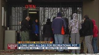 Legal pot sales begin in Colorado