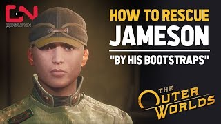 How to Rescue Jameson - Cleo Lab Office Keycard Location - Outer Worlds By His Bootstraps Quest