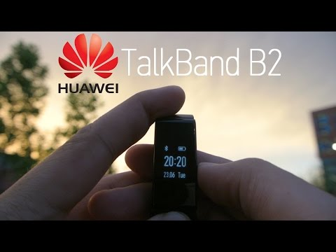 Huawei TalkBand B2 Quick Review