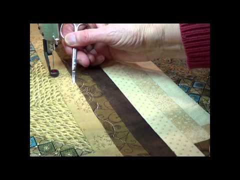 Quiltmagine Pro - How To Repair The Stitching When The Bobbin Runs Out
