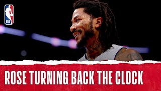 Derrick Rose Firing On All Cylinders In The Motor City!