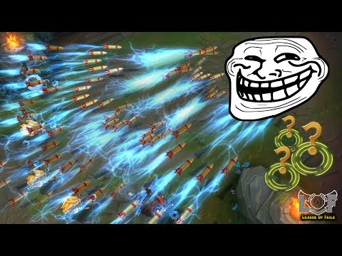 ONE FOR ALL TROLLING 2020 MONTAGE - League of Legends (5 Heimerdinger, 5 Ivern, Yasuo.exe,  200IQ)