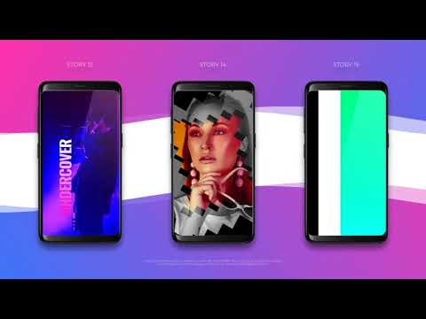 Instagram Stories Pack - After Effects Templates Project