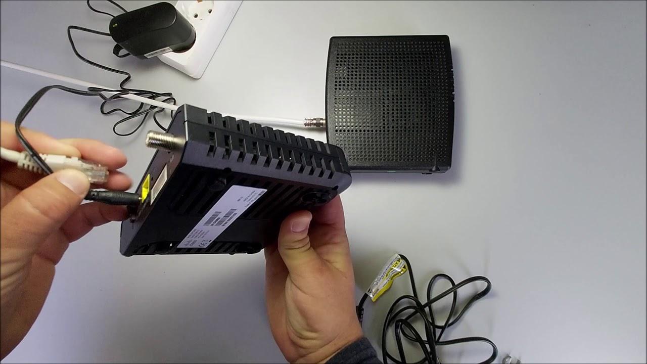 Arris CM3200 modem üzembe helyezési útmutató videó