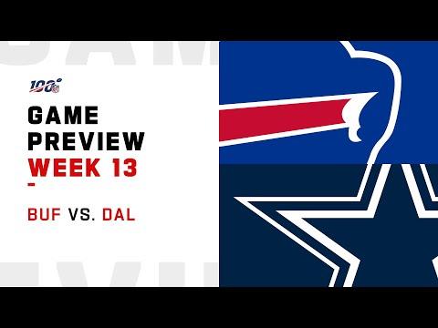 Buffalo Bills vs Dallas Cowboys Week 13 NFL Game Preview