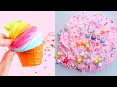 The Most Satisfying Slime Videos Compilation 🍭 New Oddly Satisfying Musical.ly 2018