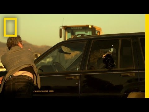 Shatter A Car Window With A Sparkplug In An Emergency