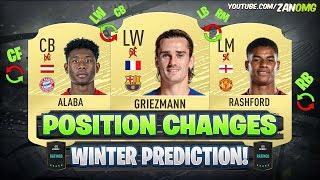 FIFA 20 | CRAZIEST WINTER POSITION CHANGES!! 😱🔥 | FT. GRIEZMANN, ALABA, RASHFORD...