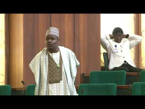 Hon Mohammed Gudaji Kazaure,11 Oct 2017   Motion on the need to determine why food products prohibit