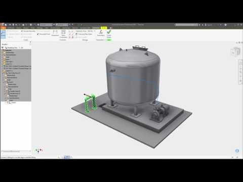 Autodesk Inventor 2017 - Tube and Pipe