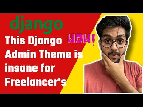 This Django Admin Panel is Insane for Freelancer | [ Django admin Theme] thumbnail