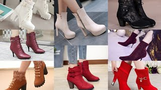 Stylish Ankle Boots For Womens | New Trendy High Medium Heel Boots Designs | LetsGo Stylish