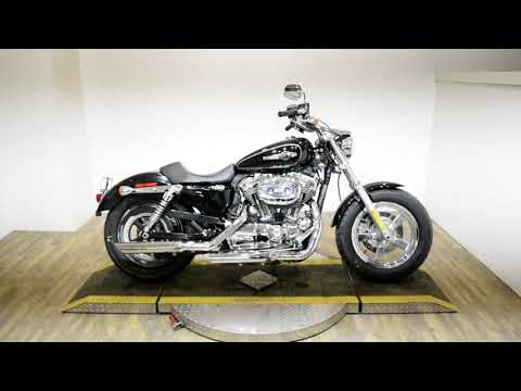 2013 Harley-Davidson Sportster® 1200 Custom in Wauconda, Illinois - Video 1