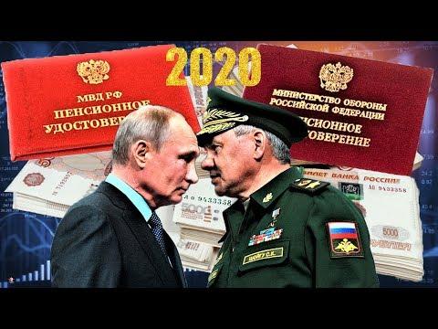 Пенсии Бесподобный Рост Военных Пенсий в 2020 году 113,5 млрд  рублей  Бюджет для Военных Пенсионеро