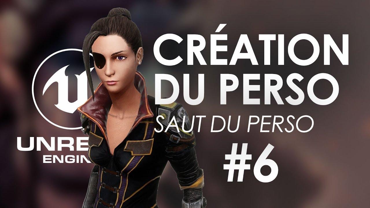 Gestion du saut du personnage dans Unreal Engine 4