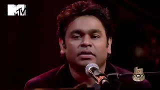 A R  Rahman   MTV Unplugged Season 2   Dil Se