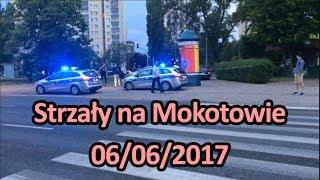 Strzały na Mokotowie. Policyjny pościg na Puławskiej 06/06/17