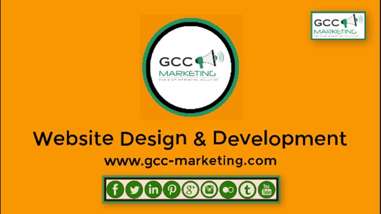 Web Design & Development by GCC Marketing