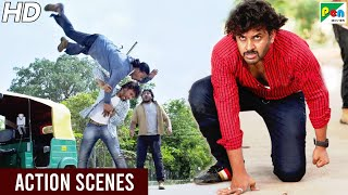 Iss Pyar Ko Kya Naam Doon - Best Action Scenes | Avinash Diwakar, Sri Sruthi | Hindi Dubbed Movie