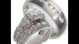 38  Awesome 3 Piece Wedding Ring Sets Ideas