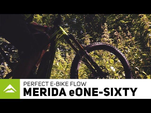 Видео Велосипед Merida eONE-SIXTY 500 Silk Green/Anthracite