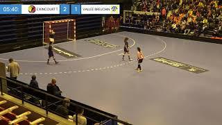 Finale Régionale Futsal U18F (Besançon) : Exincourt-Taillecourt / Vallée du Breuchin (3-1)