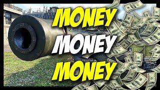 ► Money, Money, Money! - Tier 8 Credit Cows! - World of Tanks Premium Tank Gameplay