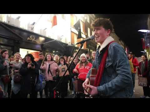 Padraig Cahill gets Grafton Street Dancing!