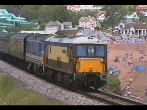 The Paignton & Dartmouth Railway Diesel Gala 20th June 1993