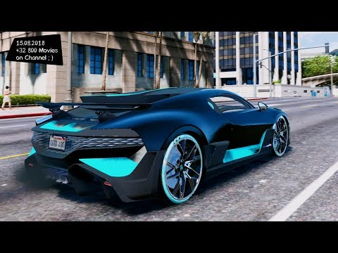 2019 Bugatti Divo 2.0 Grand Theft Auto V GTA V 🚗 I Go To 40K SUBS ;)