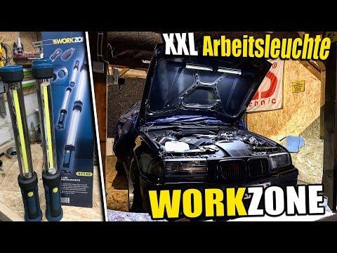 WORKZONE   XXL LED Arbeitsleuchte ...Update von Neuigkeiten