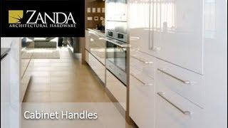Video - Zanda Cabinet Handles
