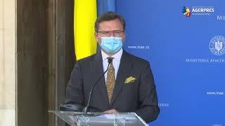 Ministrul ucrainean de Externe, la Bucureşti: Am stabilit să înfiinţăm un grup de lucru pe probleme de energie