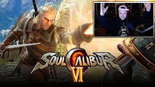 SOUL CALIBUR 6: Geralt of Rivia Reveal Trailer REACTION! (SOULCALIBUR: VI)