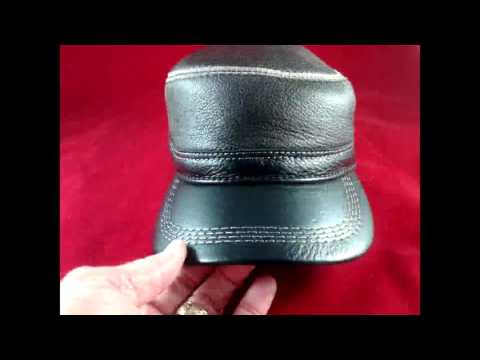 lethmik Vintage Military Hats Review, Well Constructed Leather Military Style Hat