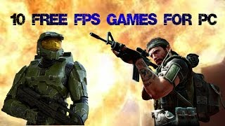 Best Top10 Free FPS Games For PC (2017)