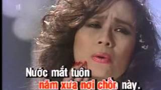 Tiếng mưa buồn - Ngọc Lan - Karaoke