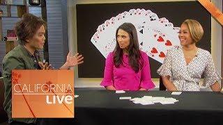 Shin Lim's Crazy Card Trick | California Live | NBCLA