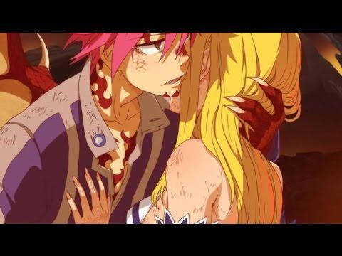 END Natsu Awakening : Lucy & Natsu Kiss! Fairy Tail Chapter 500-503 A Love Story