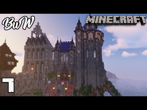 Let S Build A Castle 7 Wizard Tower Minecraft 1 13 2 Survival Let S Play 163 Minecraftvideos Tv