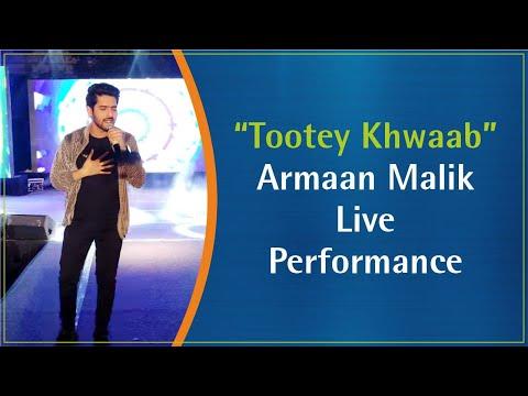 "Armaan Malik Performing Live at Rama University on ""Toote Khwaab"""