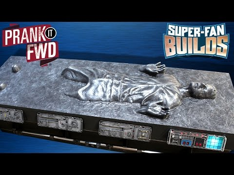 Han Solo In Carbonite - Star Wars Coffin Coffee Table