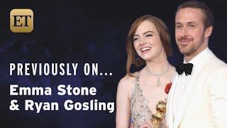 Previously On Emma Stone & Ryan Gosling