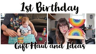 First Birthday Gift Haul And Ideas - What We Got Elian For His 1st Birthday