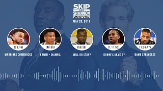 UNDISPUTED Audio Podcast (5.20.19) with Skip Bayless, Shannon Sharpe & Jenny Taft | UNDISPUTED