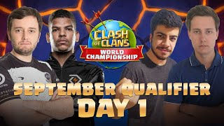 Clash Worlds September Qualifier Day 1 | Clash of Clans