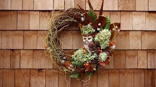 Create a Fall Wreath