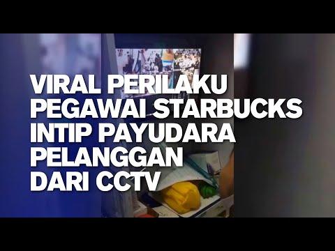 Viral Perilaku Pegawai Starbucks Intip Payudara pelanggan dari CCTV