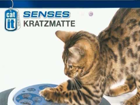 catitSenses - Kratzmatte, Spielschiene, Massage-Center