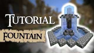 Minecraft Tutorial: How to build a small fountain